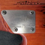 Bass Guitar- Custom built- Custom pickups- Ibanez Shape- Mattblack Speedshop- 13
