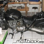 Kawasaki Z650- Custom built- Musclebike- Mattblack Speedshop- 04