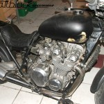 Kawasaki Z650- Custom built- Musclebike- Mattblack Speedshop- 06
