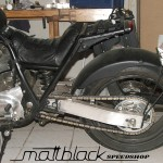 Kawasaki Z650- Custom built- Musclebike- Mattblack Speedshop- 09