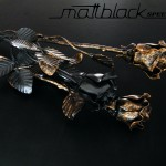 Steel Rose- Metal Flower- Custom made- Mattblack Speedshop- 02