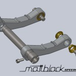 Simson e-Suhl_ 20120516_ Simson Suhl 1957_ Electric bike conversion_ Electric motorcycle_ Electric Bicycle_Front Swingarm assembly _ Mattblack Speedshop_01