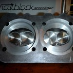 VW Beetle 1965 - 20120516 - Restoration - Tuning - Hot Rodding - Mattblack Speedshop - 09 -  Modified Cylinder head.JPG