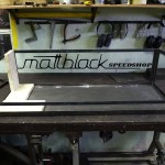 Grill oven - Custom made - wood grill - Mattblack Speedshop - 01 - build up