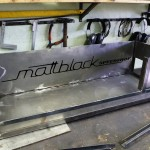 Grill oven - Custom made - wood grill - Mattblack Speedshop - 03 - build up