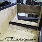 Grill oven - Custom made - wood grill - Mattblack Speedshop - 05 - firebox taking shape