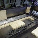 Grill oven - Custom made - wood grill - Mattblack Speedshop - 07 - air vent channel