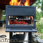 Grill oven - Custom made - wood grill - Mattblack Speedshop - 16 - born of the cinder
