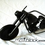 Bike of bolts and nuts - Motorcycle scaled model - Mattblack Speedshop - 01