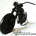 Bike of bolts and nuts - Motorcycle scaled model - Mattblack Speedshop - 02