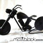 Bike of bolts and nuts - Motorcycle scaled model - Mattblack Speedshop - 03