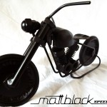 Bike of bolts and nuts - Motorcycle scaled model - Mattblack Speedshop - 04